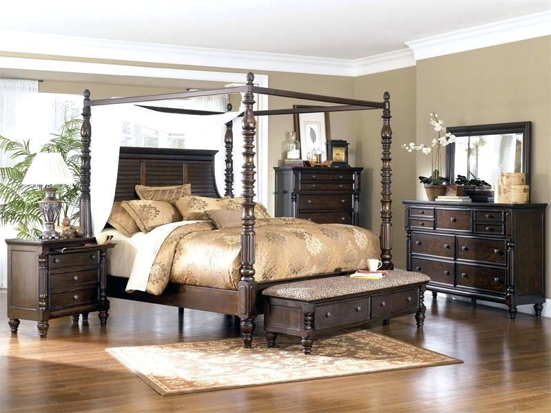ashley furniture clovis nm millennium key town king canopy bedroom suite all sets include king poster ashley furniture homestore north prince street clovis nm
