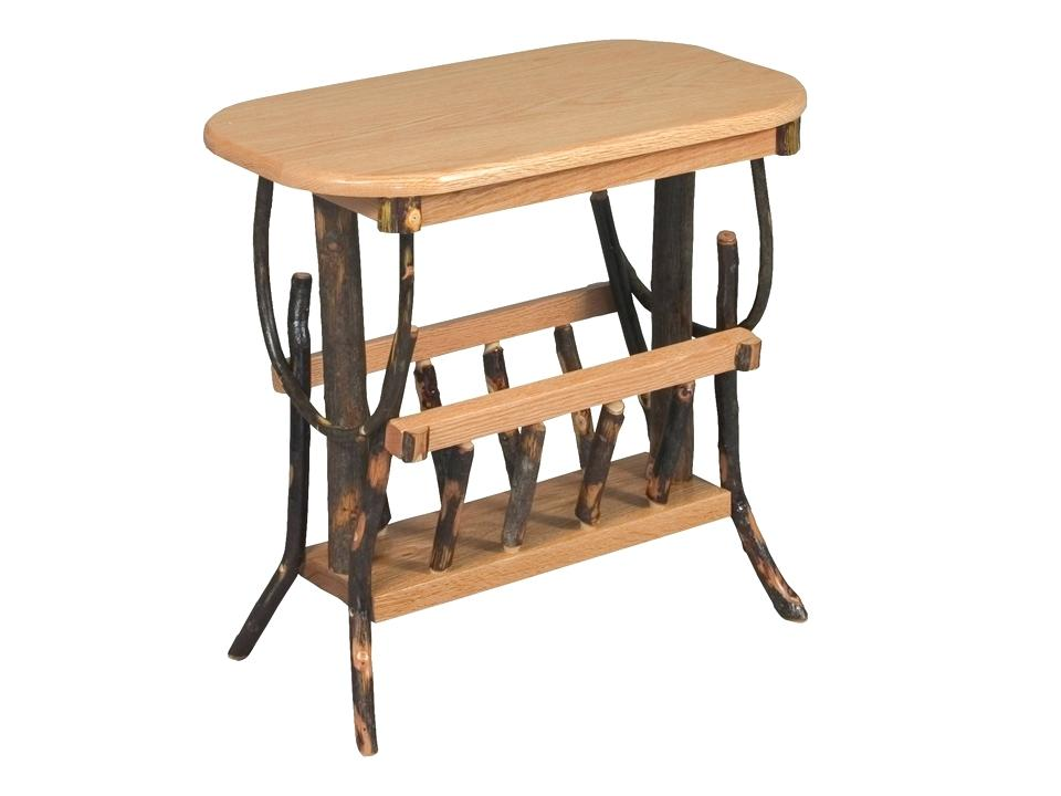 foothills amish furniture oval end table magazine rack foothills amish furniture charleston sc