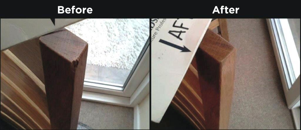 guardsman furniture repair wood restoration chipped dining chair guardsman furniture repair claim