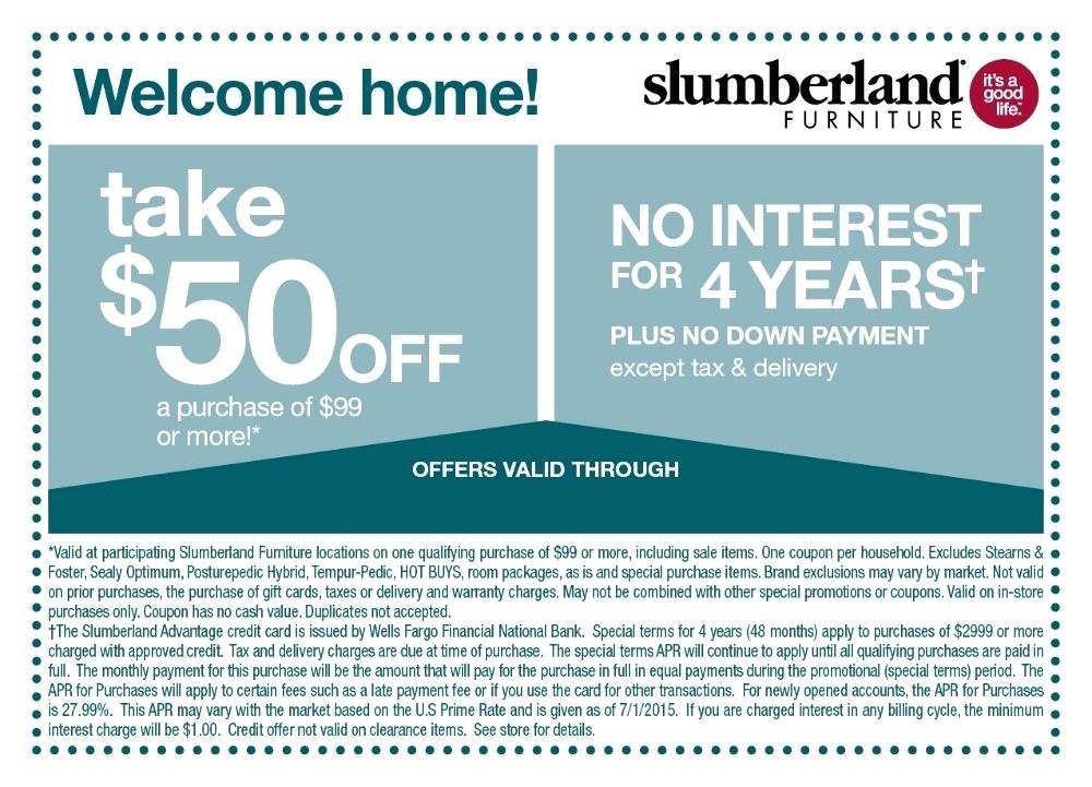 slumberland furniture coupons slumberland furniture coupon code