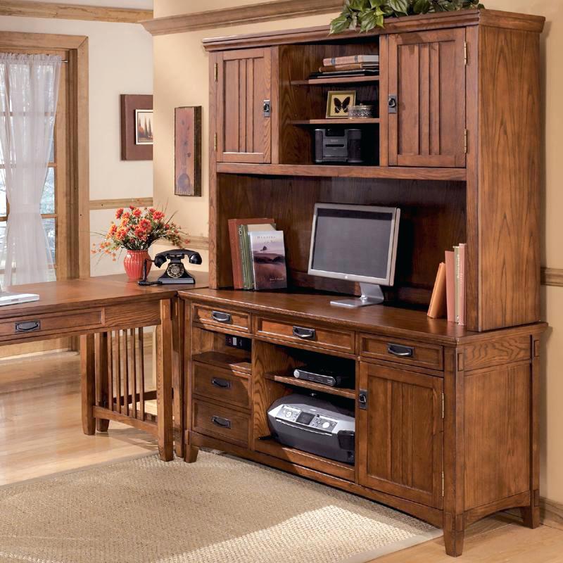 ashley furniture springfield il furniture cross island office mission credenza desk 2 door hutch set desk hutch dealer locator ashley home store springfield il