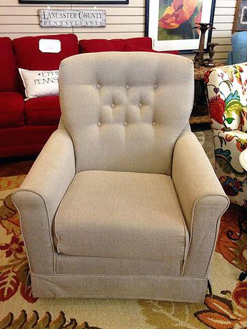 guildcraft furniture tan grey chair american guild craft furniture
