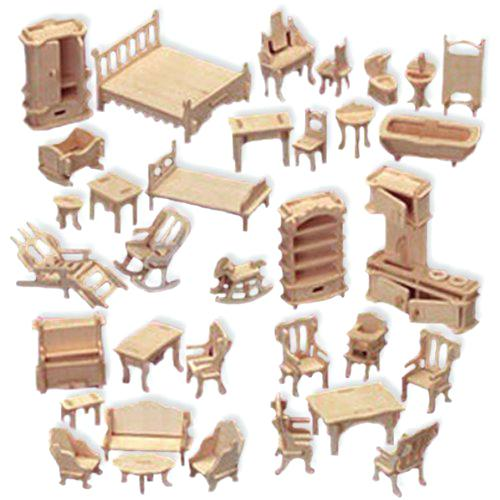 woodcraft unfinished furniture doll house furniture set woodcraft construction kit 1 scale woodcraft unfinished furniture catalog