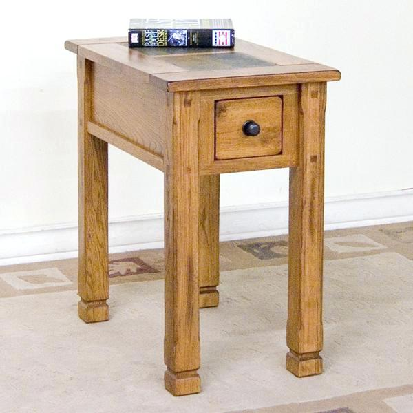 conlins furniture chair side table with slate by sunny designs furniture end table furniture conlins furniture memorial day sale