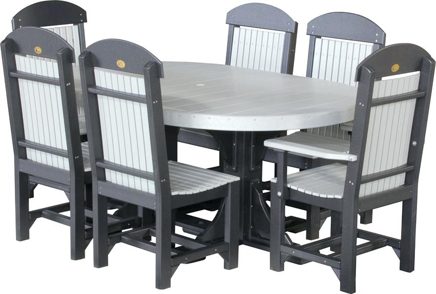 luxcraft furniture poly captain chair oval dining set luxcraft furniture reviews
