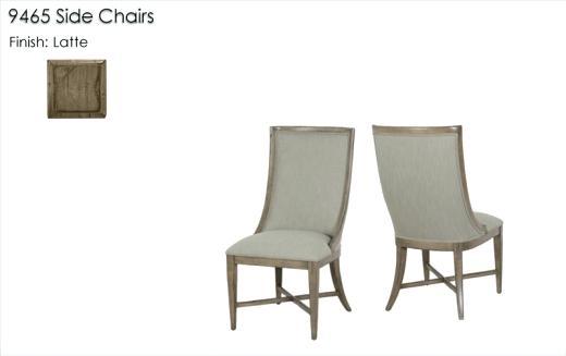 lorts furniture side chairs finished in latte lotts furniture stuarts draft va